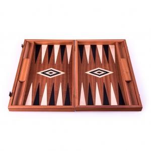 Set joc table/backgammon – lemn de trandafir – nod inlaid– 48 x 60 cm2