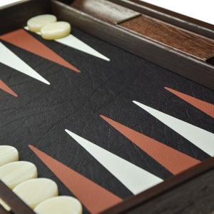 Set joc table backgammon piele model Crocodil - 48 x 602