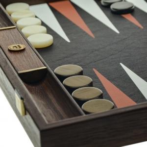 Set joc table backgammon piele model Crocodil - 48 x 600