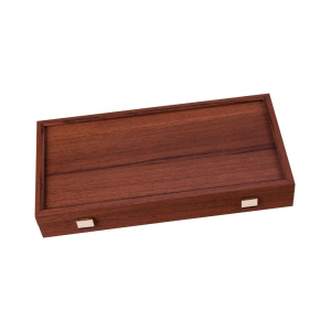 Set joc table/backgammon Walnut with Black &Oak points  48 x 50 cm1