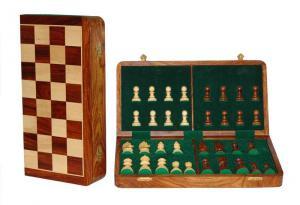Set piese si cutie cu tabla de sah - Tournament [0]
