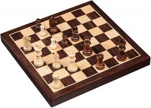 Set de sah si table din lemn de mesteacan, 28x28 cm, 30mm [0]