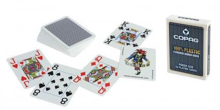 Carti de joc 100% Plastic Jumbo Index-COPAG