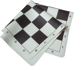 Tabla de sah din silicon alb-negru, 57mm