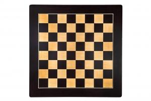 """Tabla de sah no.6, lemn wenge, 55x55 cm, patrat 55 mm, Barcelona """"Deluxe""""1"""
