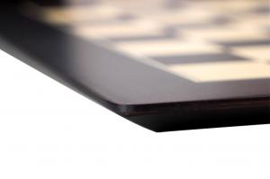 """Tabla de sah no.6, lemn wenge, 55x55 cm, patrat 55 mm, Barcelona """"Deluxe""""4"""