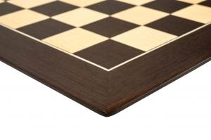 """Tabla de sah no.6, lemn wenge, 55x55 cm, patrat 55 mm, Barcelona """"Deluxe""""2"""
