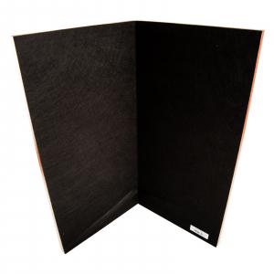 Tabla sah lemn pliabila-inlaid negru/artar, 48x48, patrat 50mm [4]