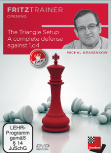 DVD Krasenkov: The Triangle Setup, A complete defense against 1.d4