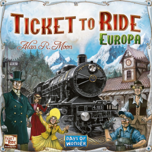 TICKET TO RIDE EUROPE0