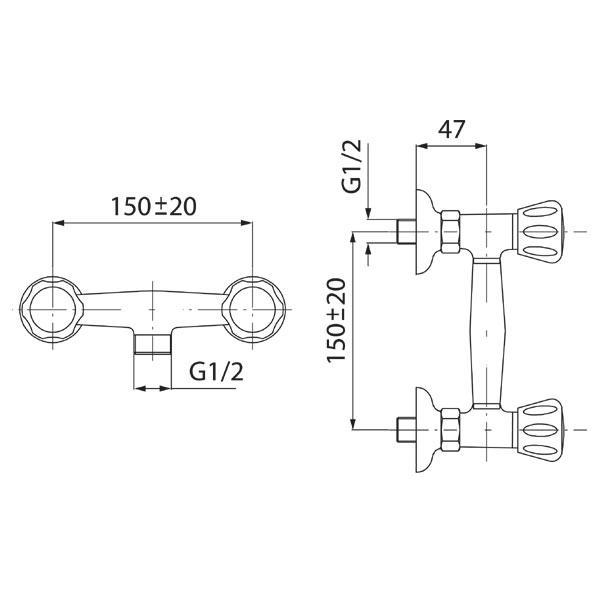 Baterie dus BST77 Standard-big