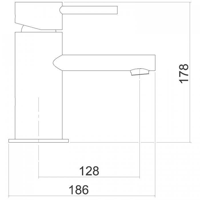 Baterie lavoar oval ferro