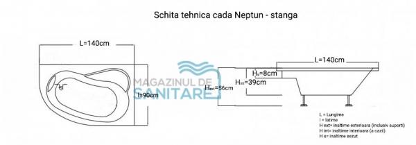 Cada 140x90 cm Neptun-big