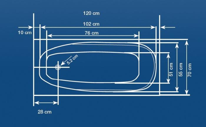 Cada 120x70 cm Linea Mini-big