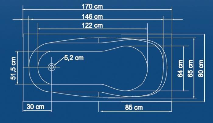 Cada 170x80 cm Mallorca-big