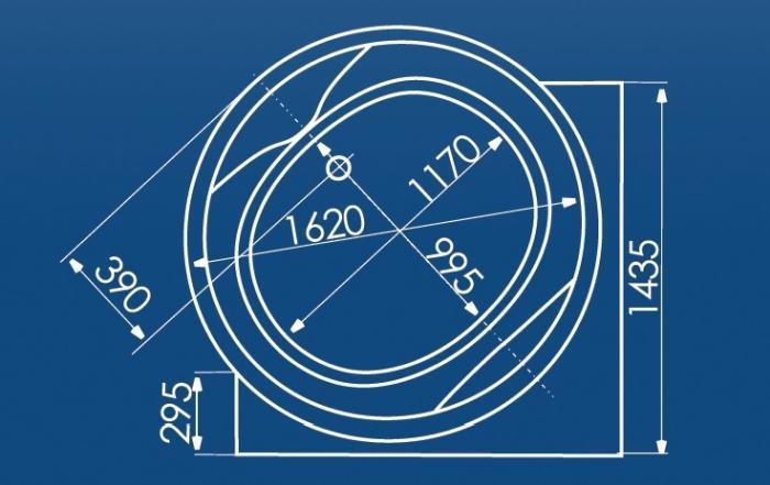 Cada rotunda Ø162 cm Mauritius-big