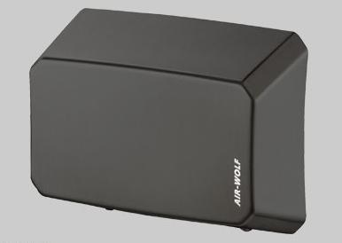Uscator de maini, cu senzor, otel inoxidabil negru, anti-vandalism, serie B, AIR-WOLF-big