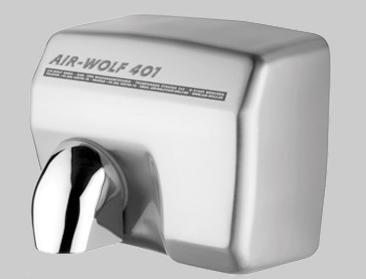 Uscator maini cu senzor, inox satinat, AIR-WOLF-big