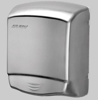 Uscator maini senzor, inox, AIR-WOLF-big