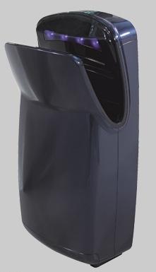 Uscator maini vertical,  ABS, albastru, AIR-WOLF-big
