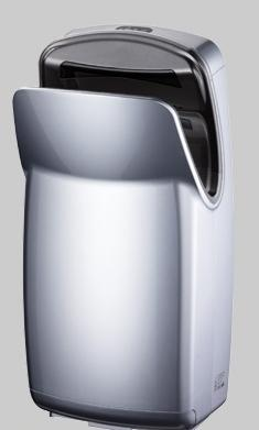 Uscator maini vertical,  ABS, argintiu, AIR-WOLF-big