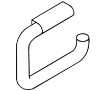 Suport hartie igienica 160x120 mm Hewi1