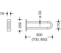 Bara stationara pentru sprijin lateral1