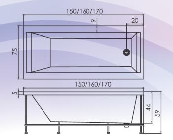 Cada 160X75 cm Adelaide1