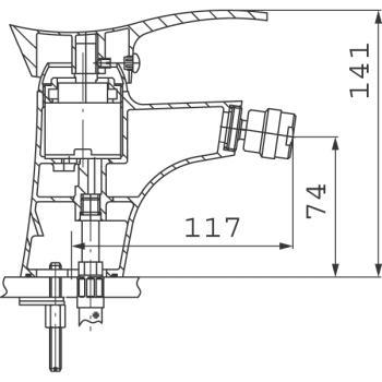 Baterie bideu BTP6 Padwa1