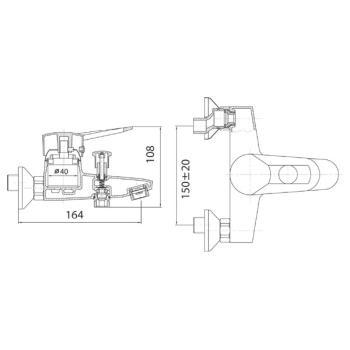 Baterie bucatarie BRN4A Napoli1