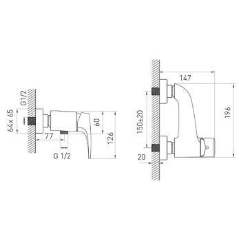 Baterie dus BBJ7VL Justic asimetric1