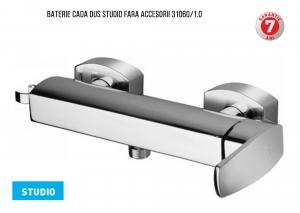 Baterie pentru cada cu montaj pe perete - fara accesorii 31060/1.0 Studio Ferro
