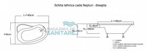 Cada 140x90 cm Neptun5