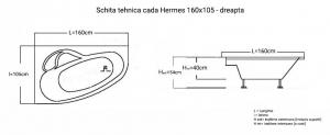 Cada 160x105 cm Hermes2