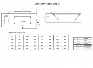 Cada 180x80 cm Simplis2