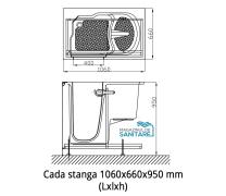 Cada baie dizabilitati stanga 106x66x95 cm1