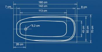Cada 160x70 cm Linea1