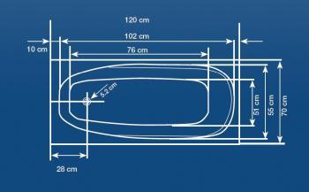 Cada 120x70 cm Linea Mini1