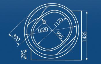 Cada rotunda Ø162 cm Mauritius1