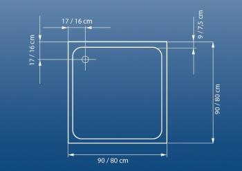 Cadita dus 80x80 cm Venus1