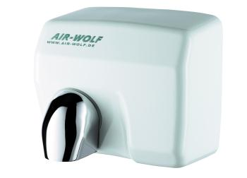 Uscator maini cu senzor, inox alb, AIR-WOLF
