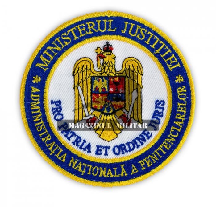 Emblema cu sigla Autoritatii Nationale a Penitenciarelor pentru maneca [0]