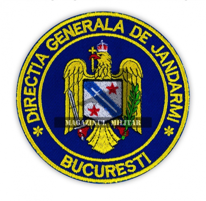Emblema Directia Generala de Jandarmi Bucuresti 0