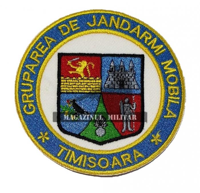 Emblema Gruparea de Jandarmi Mobila Timisoara 0