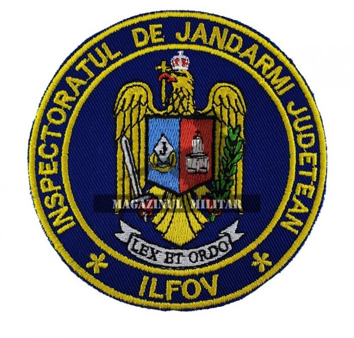 Emblema IJJ Ilfov 0