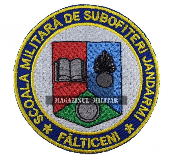 Emblema Scoala Militara de Subofiteri de Jandarmi Falticeni 0