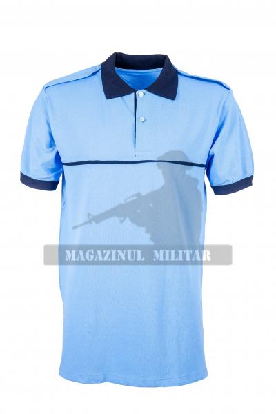 Tricou polo bleu, ordine publica (F) 0