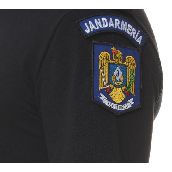 Tricou polo bleumarine cu emblema 2
