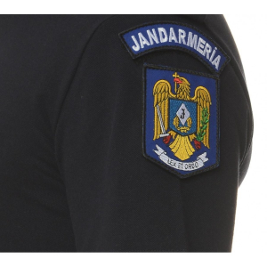 Tricou polo bleumarine cu emblema2