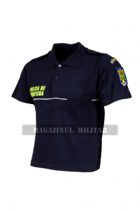 Tricou polo inscriptionat, cu emblema (F)1